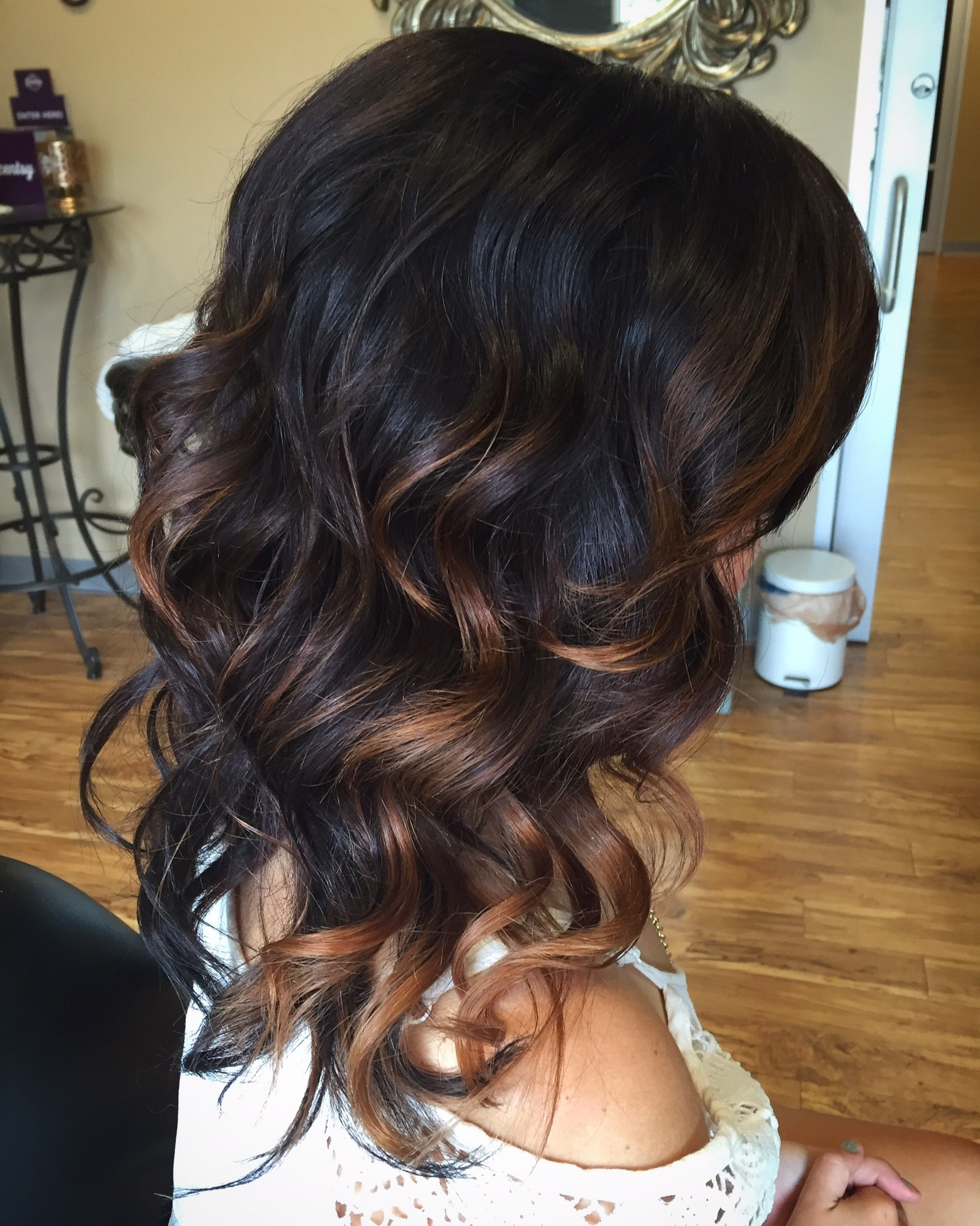 Splash Of Balayage Hair Color Paired